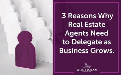 3 Reasons Why Real Estate Agents Need to Delegate as Business Grows
