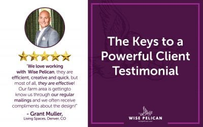 The Keys to a Powerful Client Testimonial