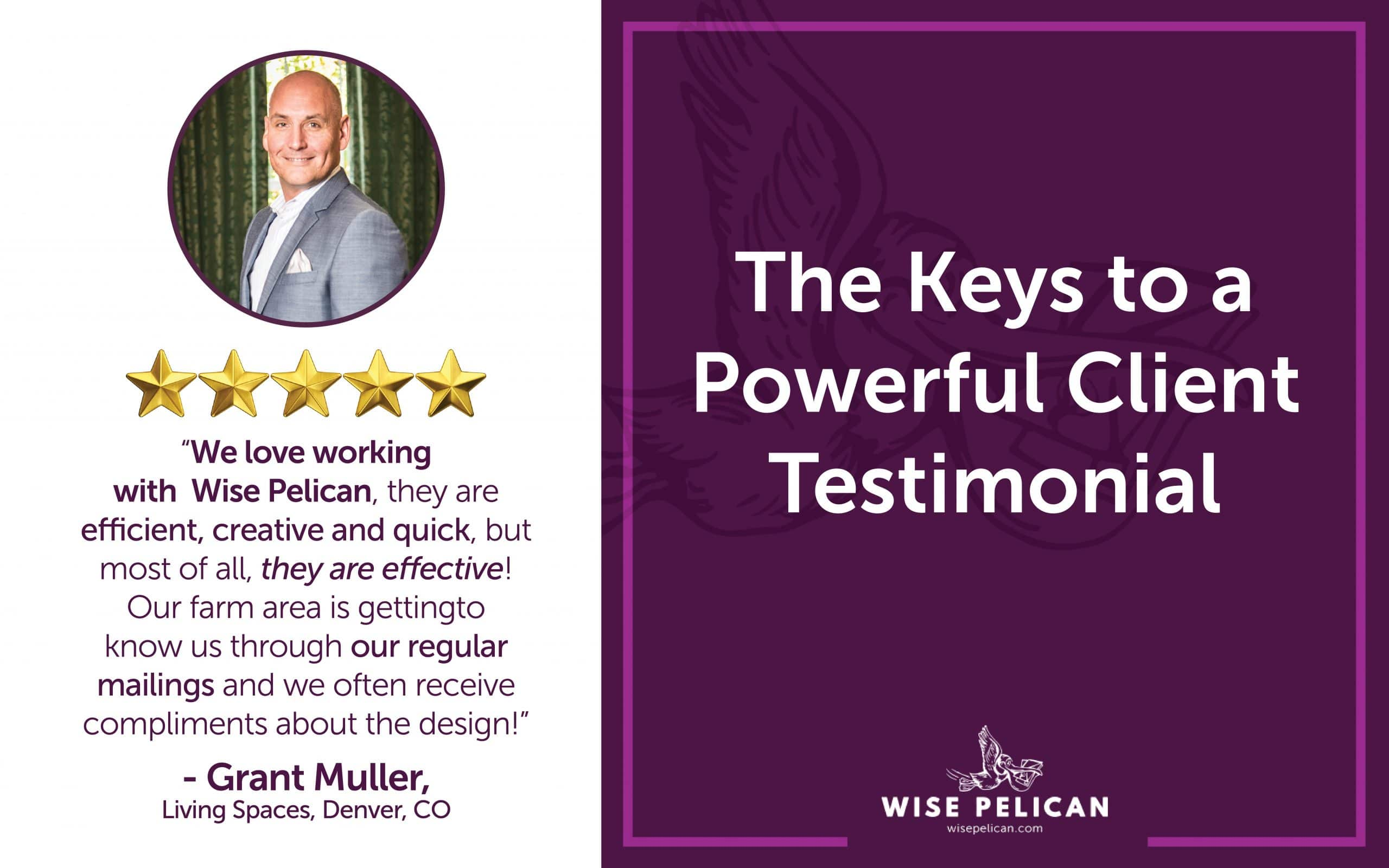 Powerful Client Testimonial